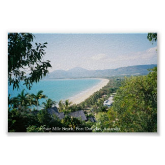 Four Mile Beach Poster