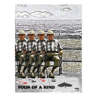 Four of a Kind Postcard