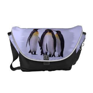 Four Penguins Rickshaw Messenger Bag