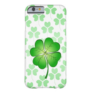 Four petal Clover for Luck Barely There iPhone 6 Case