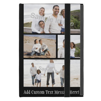 Four Photo Collage Cover For iPad Mini