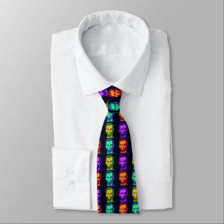 Four Pop Art Abraham Lincolns Tie