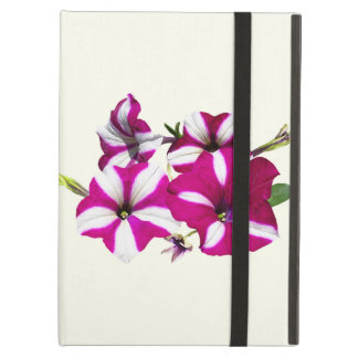Four Red and White Petunias Case For iPad Air