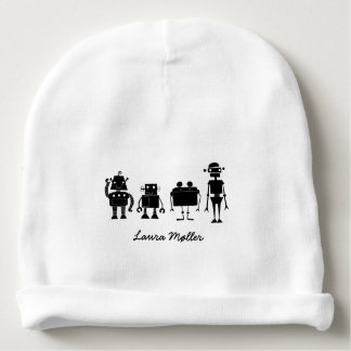Four Robots Baby Beanie