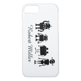 Four Robots iPhone 8/7 Case