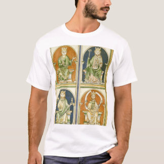 Four Saxon Kings of England T-Shirt