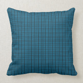 Four-Season's-Blue-Plaid _Lumbar-Square M-L Throw Pillow