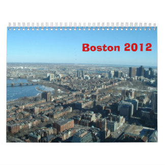 Four Seasons in Boston - 2012 Calendars