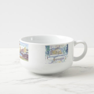 Four Seasons in Northumberland Soup Mug