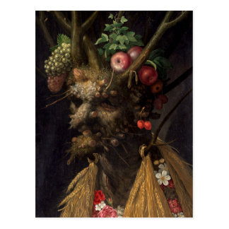 Four Seasons in One Head by Giuseppe Arcimboldo Postcard