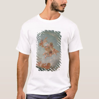 Four Seasons in the Salle du Conseil  - Spring T-Shirt