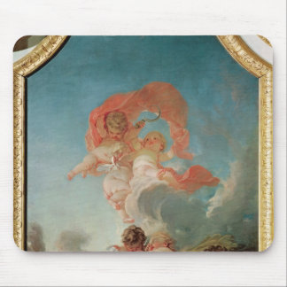 Four Seasons in the Salle du Conseil  - Summer Mouse Pad