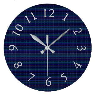 Four-Season's-Navy_Unisex--S--L Large Clock