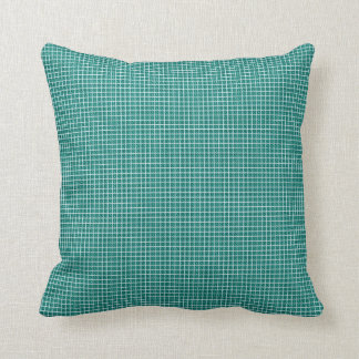 Four-Seasons-New-Green-Plaid Throw Pillow