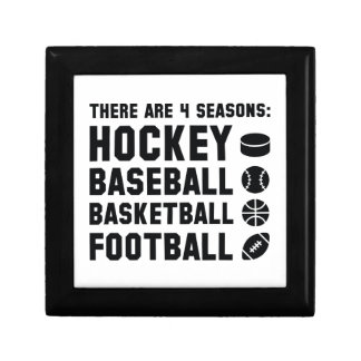 Four Seasons Sports Keepsake Box