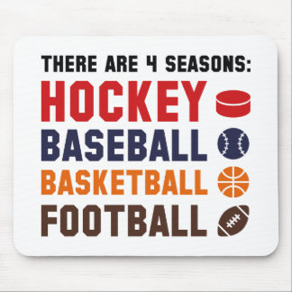 Four Seasons Sports Mouse Pad