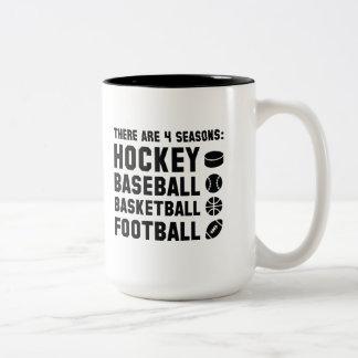 Four Seasons Sports Two-Tone Coffee Mug