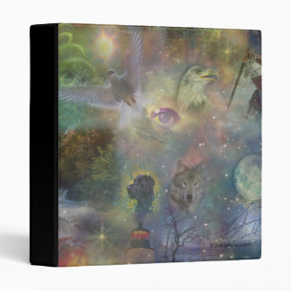 Four Seasons - Spring Summer Winter Fall Vinyl Binder