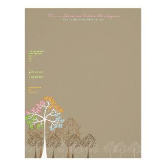 Four Seasons Trees Business Letterhead Template