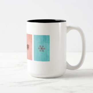 Four Seasons Two-Tone Coffee Mug