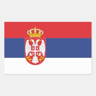 FOUR Serbia National Flag