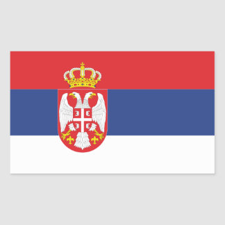 FOUR Serbia National Flag Sticker