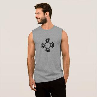 Four Sides Sleeveless Shirt