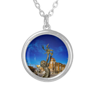 Four Spirits Silver Plated Necklace