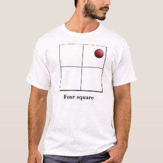 Four square Live it T-Shirt