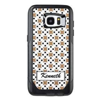 Four Star Circle by Kenneth Yoncich OtterBox Samsung Galaxy S7 Edge Case