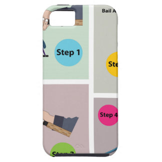 Four Steps to cast spinning rod with spinning reel iPhone 5 Cover