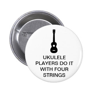 Four Strings 2 Inch Round Button
