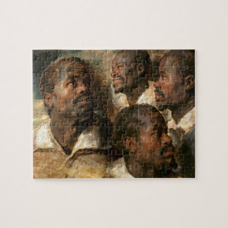 Four Studies of a Head of a Moor Jigsaw Puzzle