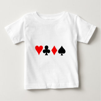 Four Suits Baby T-Shirt