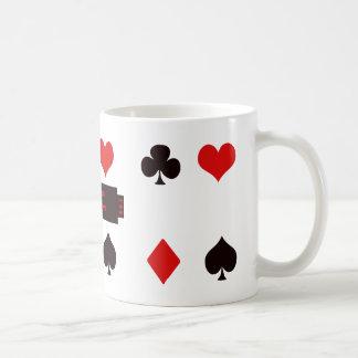 Four Suits Coffee Mug