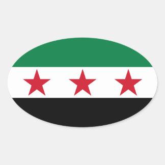 FOUR Syria Flag Sticker