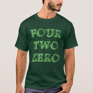 """""""Four Two Zero"""" t-shirt"""