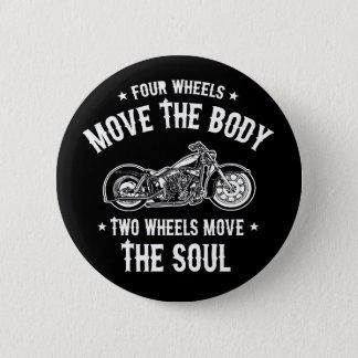 Four Wheels 1016 2 Inch Round Button