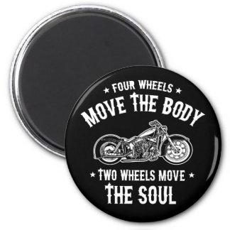 Four Wheels 1016 2 Inch Round Magnet