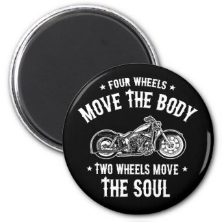 Four Wheels 1016 Magnet
