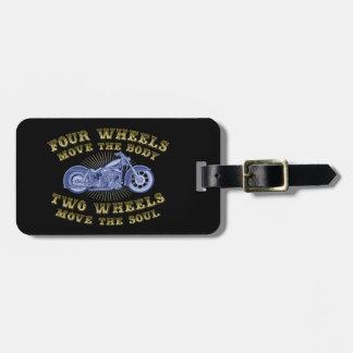 Four Wheels III Luggage Tag