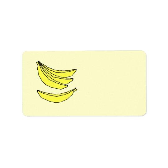 Four Yellow Bananas.
