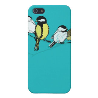 fourcalling-birds iPhone 5/5S cover