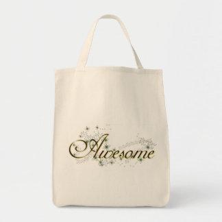 """fourre-tout """"impressionnant"""" sac en toile épicerie"""