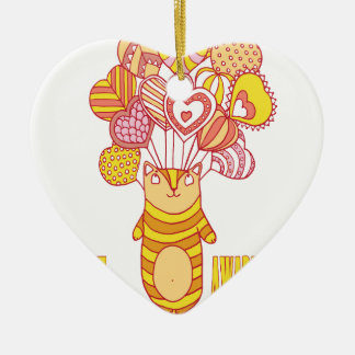 Fourteenth February - Pet Theft Awareness Day Ceramic Ornament