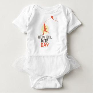 Fourteenth January - International Kite Day Baby Bodysuit