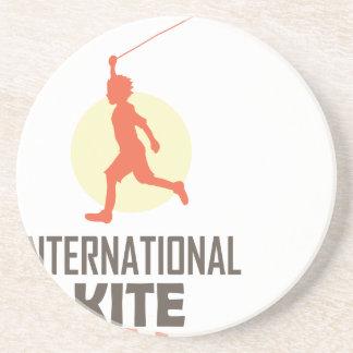 Fourteenth January - International Kite Day Coaster