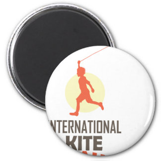 Fourteenth January - International Kite Day Magnet