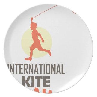 Fourteenth January - International Kite Day Plate