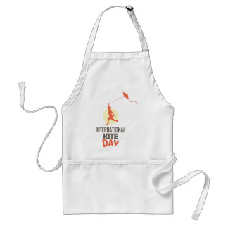 Fourteenth January - International Kite Day Standard Apron